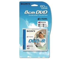 Sony DVD-R Mini 2,8GO 60min double couche boîtier plastique de 1 pièce 17ae7a4dc5ff