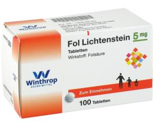 Fol Lichtenstein Tabl. (100 Stk.)