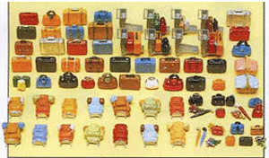 Preiser Reisegepäck (17005)