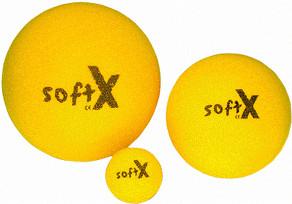 softX Schaumstoff-Ball 9 cm ohne Haut