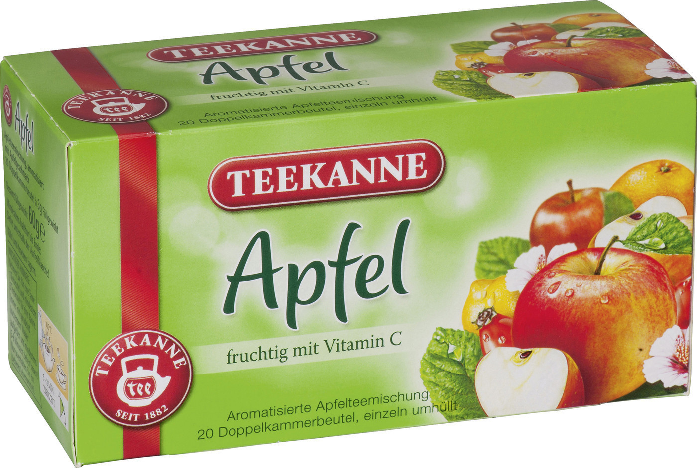 Teekanne Apfel (20 Stk.)