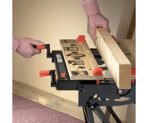 black u decker workmate wm meilleur prix with meilleur etabli pliant. Black Bedroom Furniture Sets. Home Design Ideas
