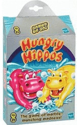 Hasbro Hungry Hippos Travel (englisch)