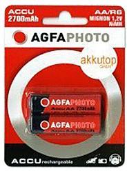 Image of AgfaPhoto 2x AA 2700 / HR6 Accu