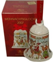 Hutschenreuther Weihnachtsglocke 2007
