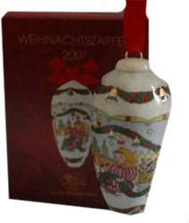 Hutschenreuther Weihnachtszapfen 2007
