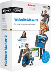 Magix Website Maker 3 (DE) (Win)