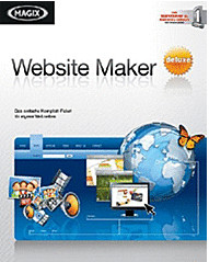 Magix Website Maker Deluxe (DE) (Win)