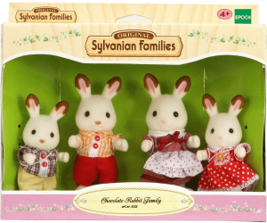 sylvanian families famille lapin chocolat au meilleur prix sur. Black Bedroom Furniture Sets. Home Design Ideas