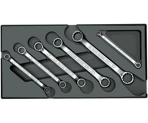 GEDORE Doppelringschlüssel kurze Form im Modul 6-teilig 1500 ES-2 B