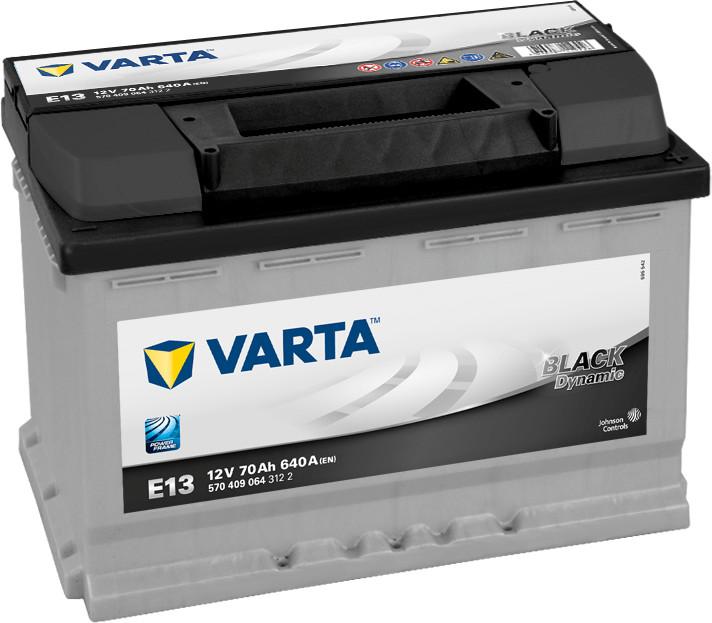 Varta Black Dynamic 12V 70Ah E13