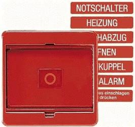Jung Abdeckung mit Glasscheibe (561 GL RT)