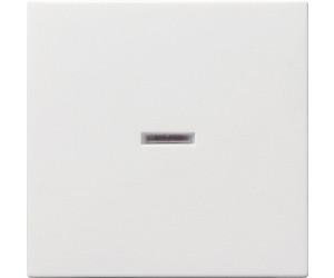 Gira System 55 Kontroll-Wippe Reinweiß glänzend 029003