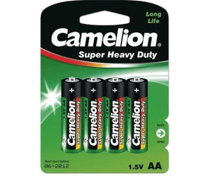 Camelion AA / R6 Green R6P (4 St.)