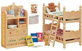 Sylvanian Families Dormitorio infantil