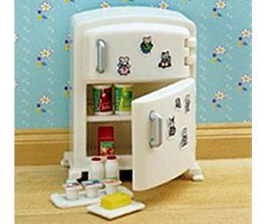 Kühlschrank Zubehör : Sylvanian families kühlschrank mit zubehör ab