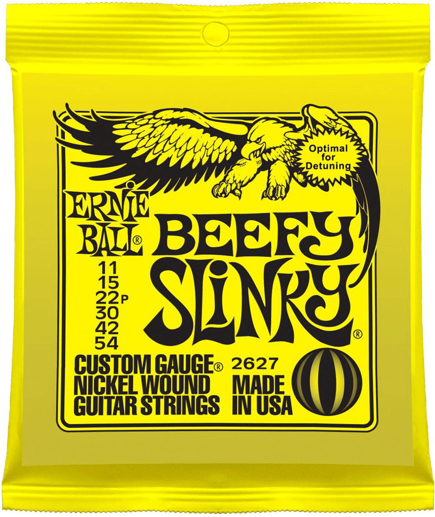 Image of ERNIE BALL Beefy Slinky Nickel Wound .011 - .054