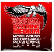 Image of ERNIE BALL 12-string Medium Nickel Wound Electric .011 - .052