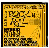 Image of ERNIE BALL Classic Pure Nickel Hybrid Slinky .009 - .046