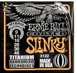 Image of ERNIE BALL Coated Electric Hybrid Slinky .009 - .046