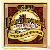 ERNIE BALL Earthwood 5-string Banjo Bluegrass 80/20 Bronze Loop End gauges 9,11,13,20w,9