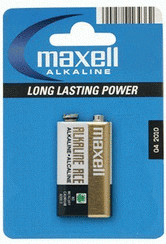 Image of Maxell 1x 6LF22 / E Alkaline Ace