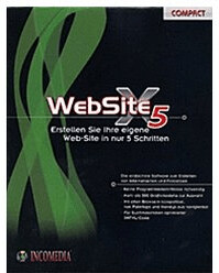 Incomedia WebSite X5 Compact 9 (DE) (Win)