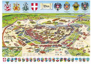 Schmidt-Spiele Wien historisch (1.000 Teile)