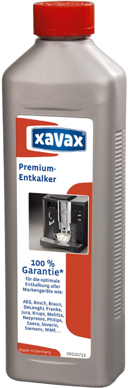 Xavax Premium-Entkalker für hochwertige Kaffeeautomaten 500ml