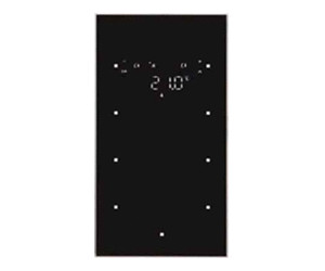 berker glas sensor 3 fach mit raumtemperaturregler ab 307 73 preisvergleich bei. Black Bedroom Furniture Sets. Home Design Ideas
