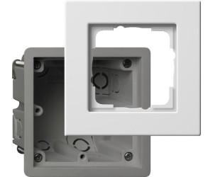 gira e22 einbauset f r die flache montageart 1fach 2881201 ab 4 73 preisvergleich bei. Black Bedroom Furniture Sets. Home Design Ideas