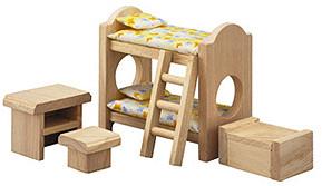 Plan Toys Habitación infantil de madera