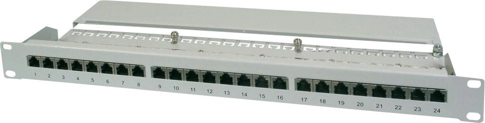 "Image of Digitus 19"" Patch Panel 24 Port Cat. 5e STP"