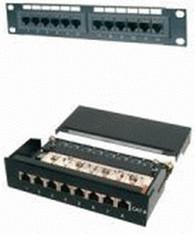 """Image of Digitus 10"""" Patch Panel 8 Port Cat. 5e UTP"""