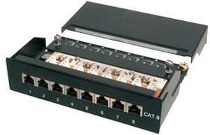 "Image of Digitus 10"" Patch Panel 12 Port Cat. 6 STP"