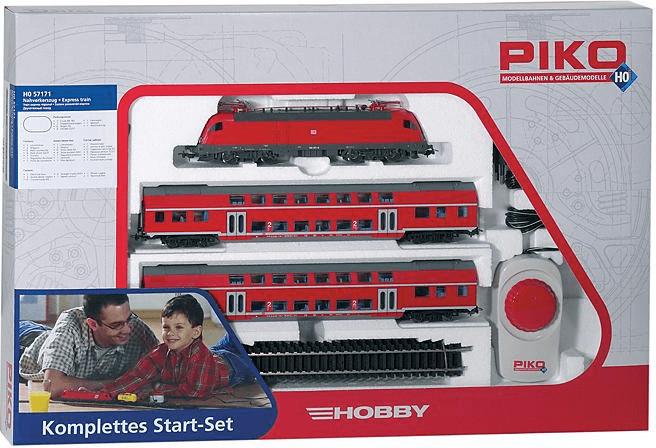 Piko Startset Nahverkehrszug DB (57171)
