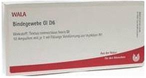 Wala-Heilmittel Bindegewebe gl D 6 Ampullen (10...