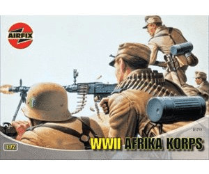 Image of Airfix Africa Corps WWII (01711)