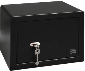 PointSafe P2S EWS BURG-WÄCHTER Möbeltresor mit Doppelbartschloss schwarz NEU