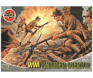 Image of Airfix American Infantry WWI (01729)