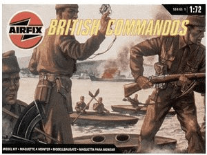 Airfix British Commandos (01732)