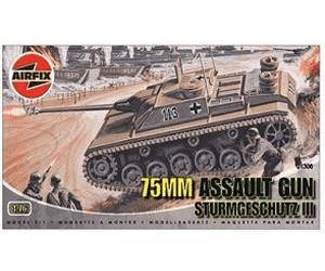 Image of Airfix 75mm Assault Gun (01306)