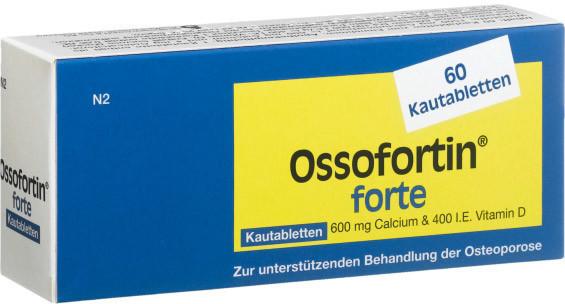 Ossofortin Forte Kautabletten 60 Stk.