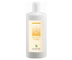 Schupp Massageöl Zitrone (200ml)