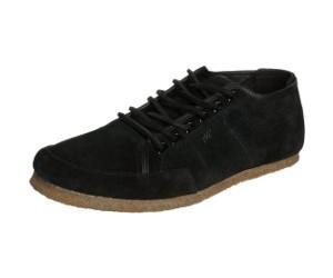 BOXFRESH Sparko SH LEA E15363 Sneaker Herrenschuhe schwarz Echtleder 44 NEU