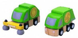 Plan Toys PlanCity - Straßenreinigungs- und Mül...