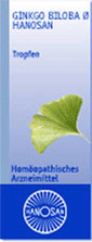 Hanosan Ginkgo Biloba Urtinktur (50 ml)