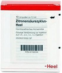 Heel Zitronensaeurezyklus Heel Ampullen (10 Stk.)