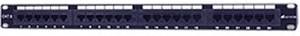 "Image of Intellinet 19"" Patch Panel 24 Port Cat. 6 UTP 1U"