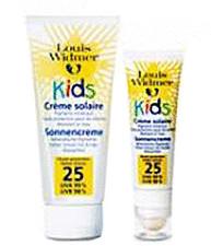 Louis Widmer Sonnencreme Kids LSF 25 + lipstick Unp. (25 ml)